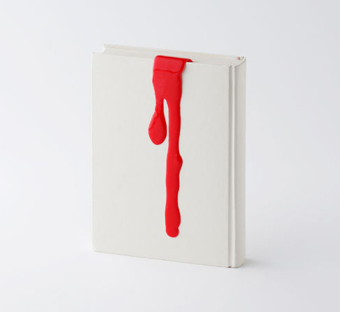 Kyouei design liquid bookmark