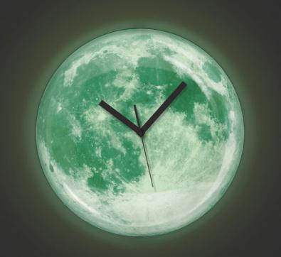 KIKKERLAND MOONLIGHT CLOCK 蓄光時計